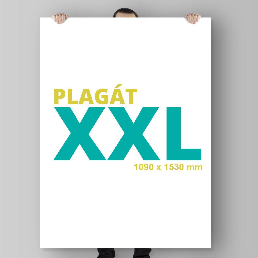 Plagát XXL na výšku