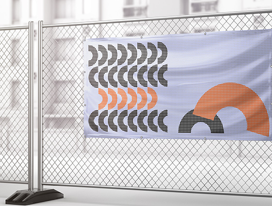 jednostranný banner