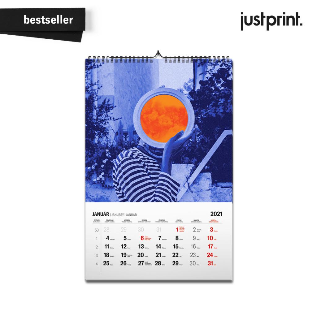 reklamný kalendár