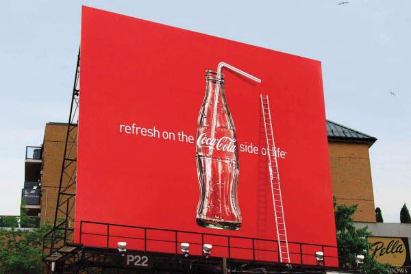 Billboardy Coca-Cola
