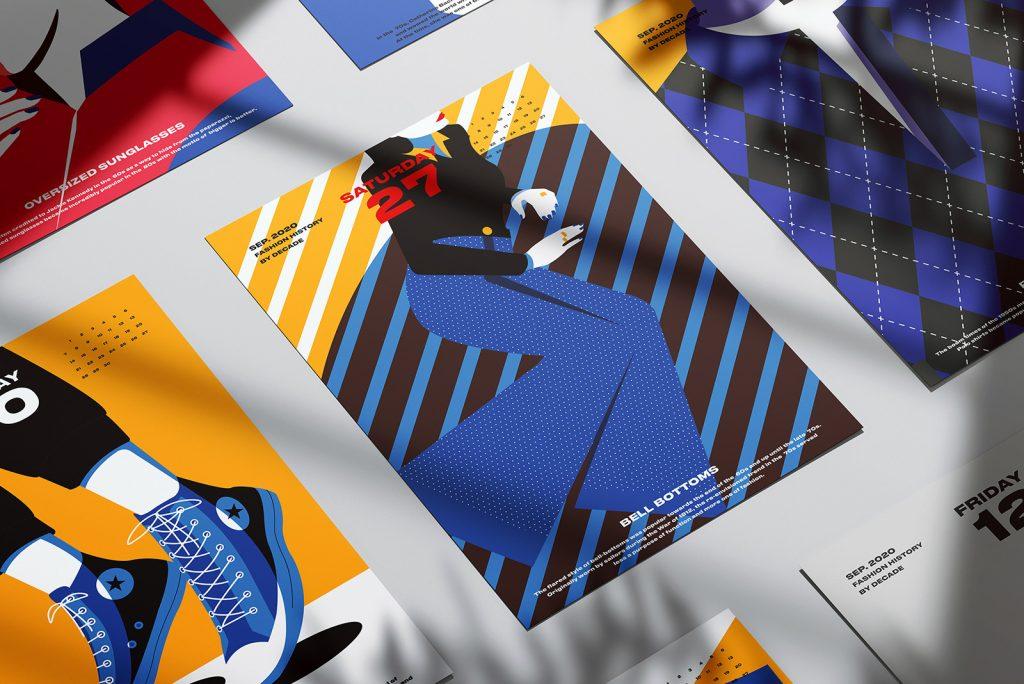kalendár Fashion 2020 - 3