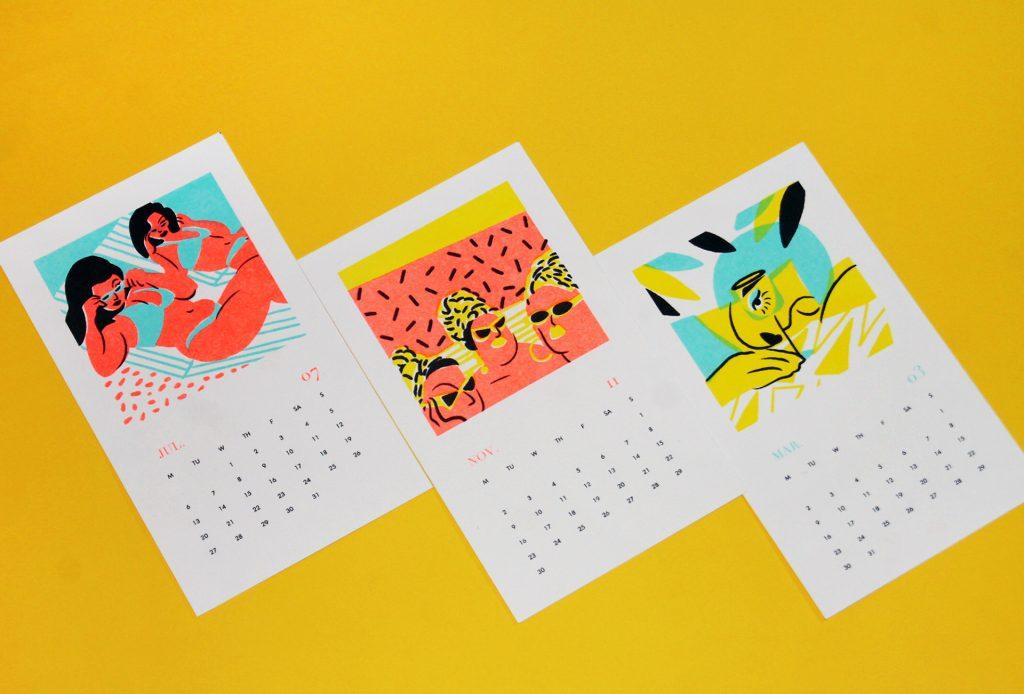 Kalendár Madwomen 2020 - 1