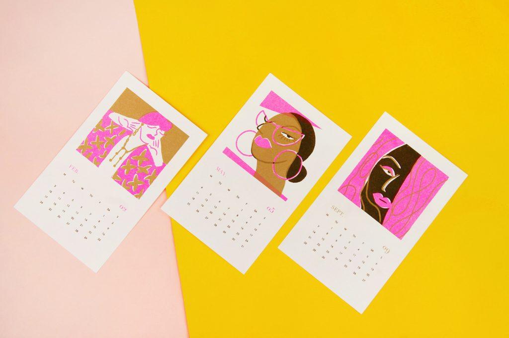 Kalendár Madwomen 2020 - 4
