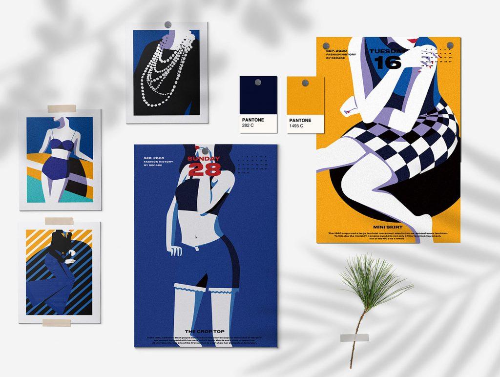 kalendár Fashion 2020 - 4