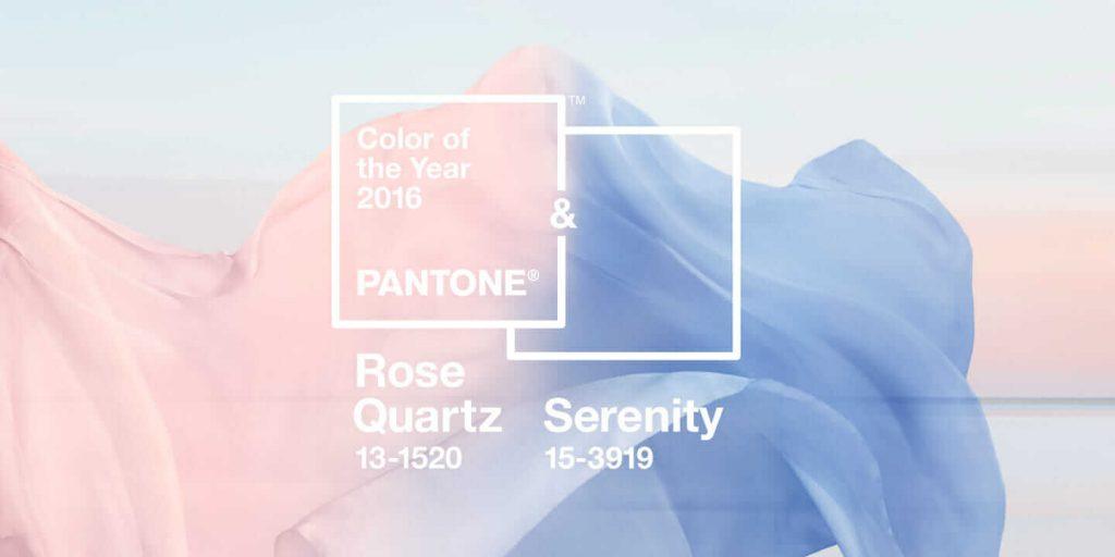 Farba roku 2016 podľa Pantone