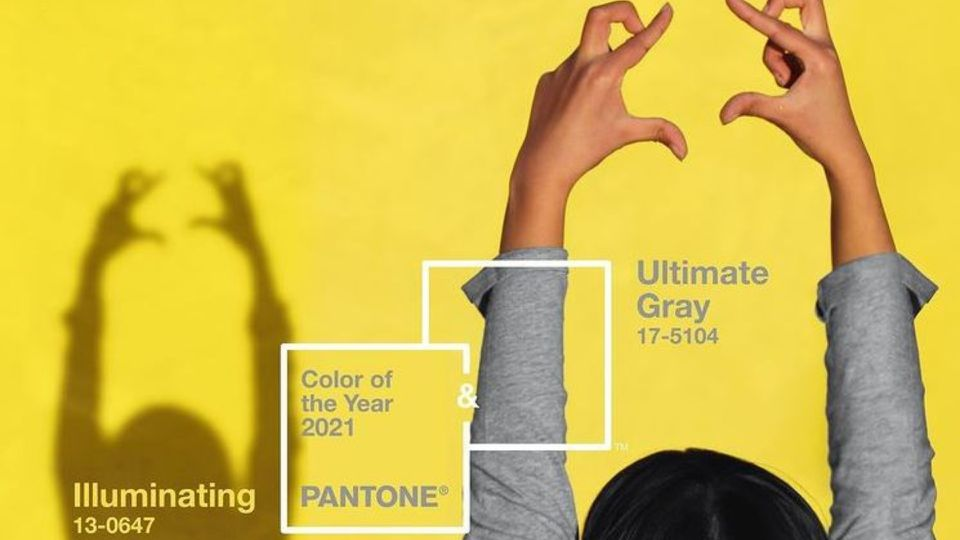 Farba roku 2021 podľa Pantone