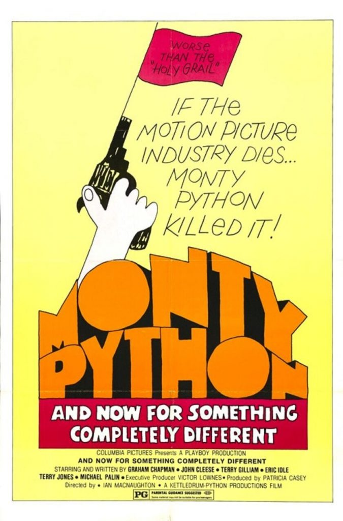 Monthy Python plakat