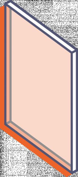 Dosky z priehľadného plexiskla bez potlače - rezané