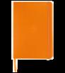 Zápisník A5 s tvrdými doskami a gumičkou - farebná väzba