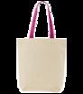 Látková taška s farebnými ušami