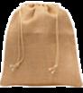 Pytlík z juty so šnúrkou - stredný