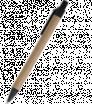 Guličkové pero z recyklovaného papiera s farebným klipom