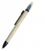 Ekologické guličkové pero so zvýrazňovačom