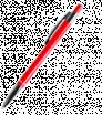 Kovové guličkové pero so striebornými doplnkami