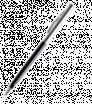 Kovové guličkové pero s čiernym a strieborným telom