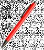 Plastové guličkové pero so šedými prvkami