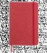 Zápisník A5 s tvrdými papierovými doskami a gumičkou