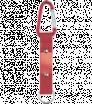 Kovová kľúčenka - karabína s popruhom