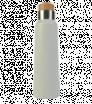 Nerezová biela termoska s dreveným uzáverom 500 ml