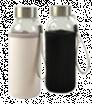 Sklenená fľaša s neoprénovým obalom 300 ml