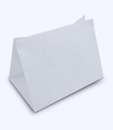 Papierová taška na menubox - bez uch - s potlačou