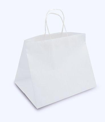 Papierová taška na menubox - s potlačou