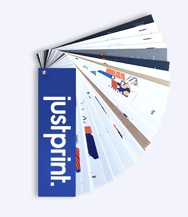 Vzorkovník papierov Justprint