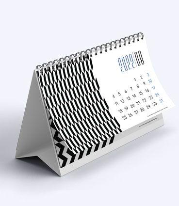 Stolový kalendár so špirálou (mesačný)