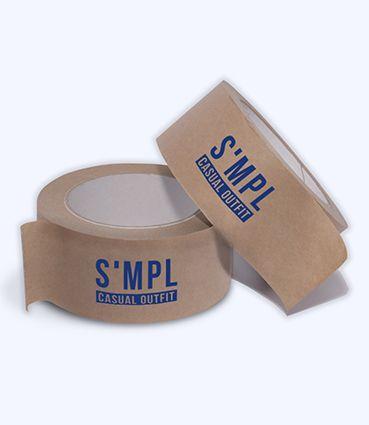 Papierová lepiaca páska s potlačou