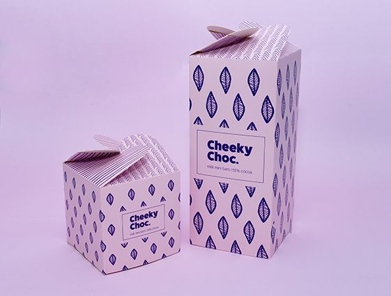Darčekové krabice s rozetovým uzáverom, 4 strany online tlač 1