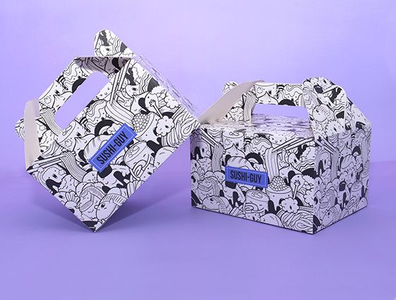 Darčekové krabice s rukoväťou online tlač 1