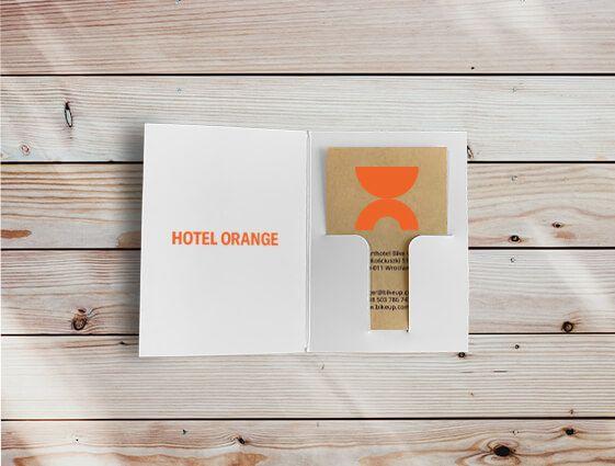 Obal na hotelovú kartu online tlač 1