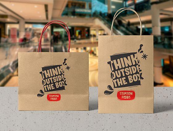 Reklamná taška Kraft online tlač 1