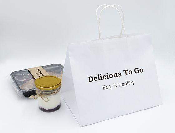 Papierová taška na menubox online tlač 1