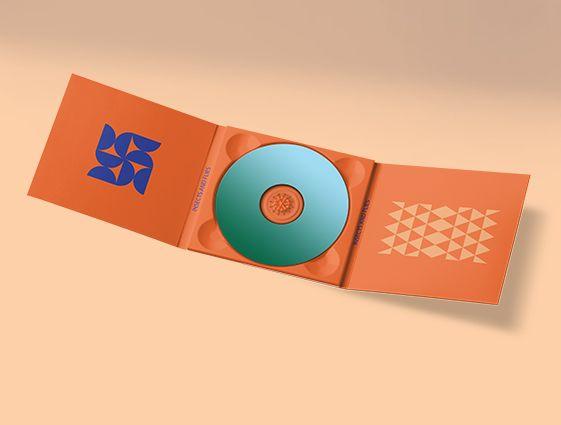 Obal na CD s dvoma chlopňami online tlač 1