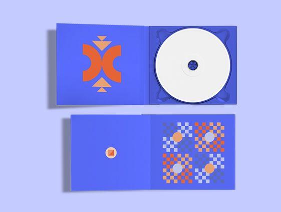 Obal na CD s jednou chlopňou online tlač 1