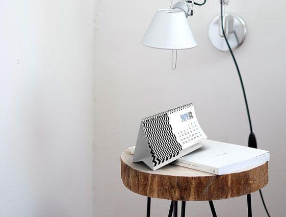 Stolový kalendár so špirálou (mesačný) online tlač 1