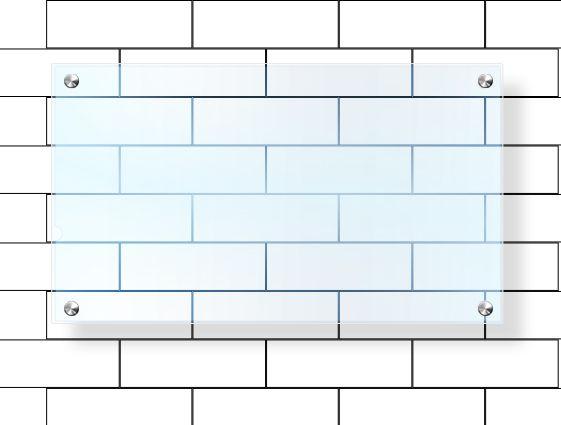 Dosky z priehľadného plexiskla bez potlače - frézované s otvormi online tlač 2