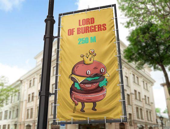 Obojstranný banner online tlač 2