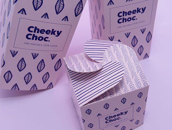 Darčekové krabice s rozetovým uzáverom, 4 strany online tlač 2
