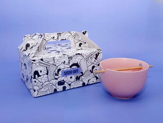 Darčekové krabice s rukoväťou online tlač 2