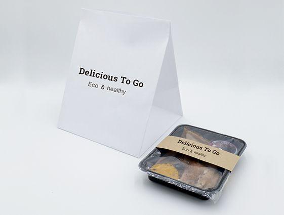 Papierová taška na menubox - bez uch online tlač 2