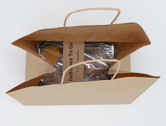 Papierová taška na menubox online tlač 2