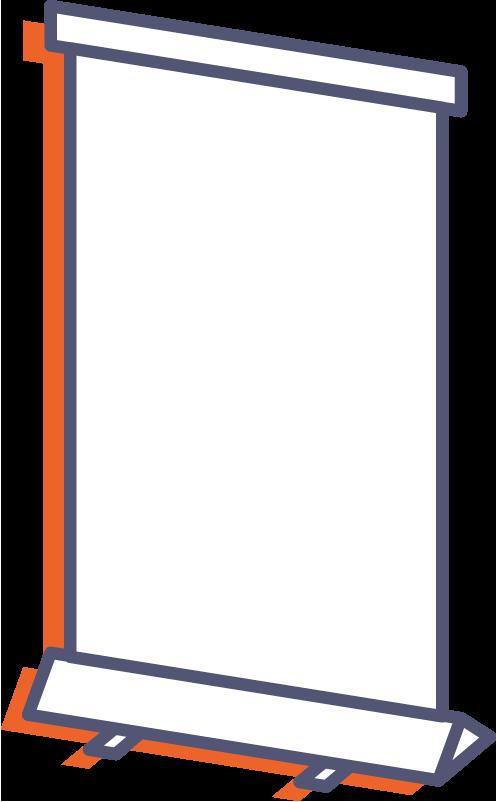 Roll-up online tlač