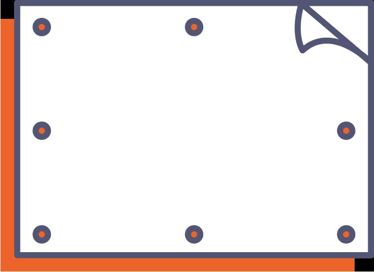 Obojstranný banner online tlač