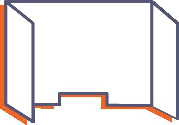 Ochranná prepážka z plexiskla bez potlače online tlač