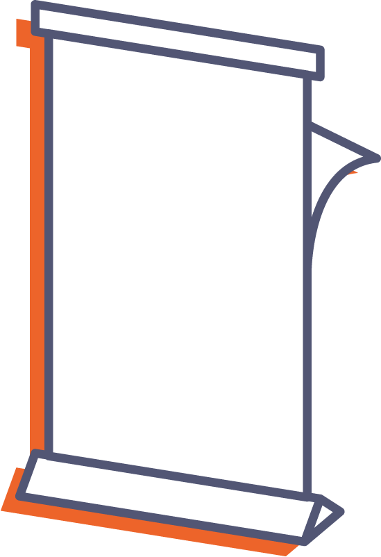 Roll-up Double (obojstranný) online tlač