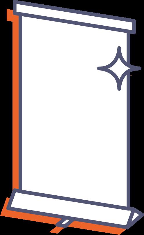 Roll-up Standard Plus online tlač