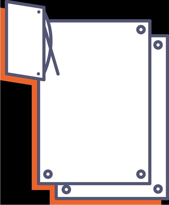 Výtlačky pre X-banner online tlač