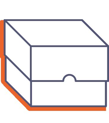 Krabice s vekom online tlač